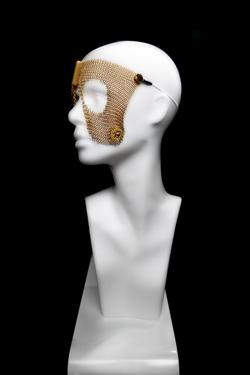 Goldmaske aus 24k Gold für die Augen - auch als Silbermaske