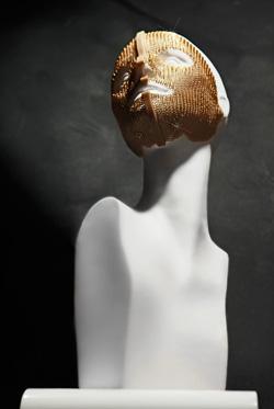 Goldmaske aus 24k Gold für das Gesicht
